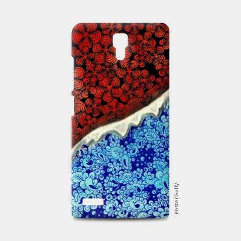 Fire and Ice!!  Redmi Note Cases | Artist : Chaitanya Deepti