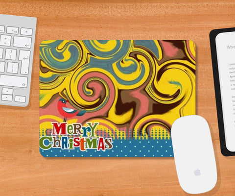 Mousepad, Christmas Mousepad | Artist : Anushree Jaiswal, - PosterGully
