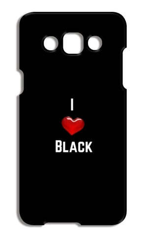 I love black Samsung Galaxy A5 Cases | Artist : Pallavi Rawal