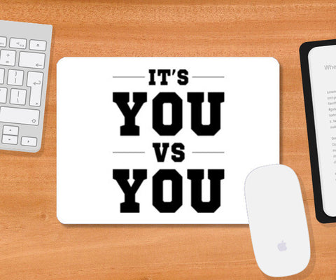 Mousepad, It's You VS You Mousepad | Artist : jinkal patel, - PosterGully