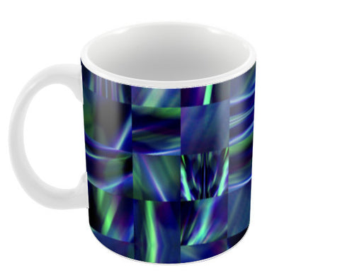 Blue Blend Coffee Mugs | Artist : Hemant Kumar Gandhi