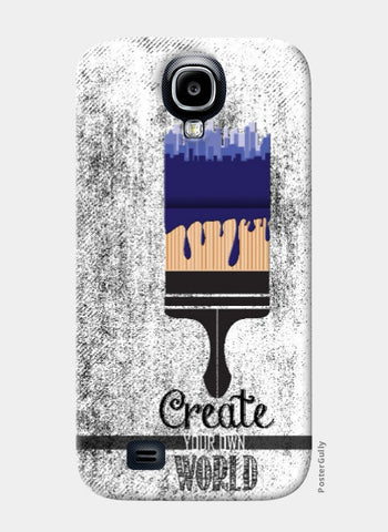Samsung S4 Cases, Create Your World Samsung S4 Case | Artist: Abhishek Faujdar, - PosterGully
