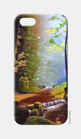 Forest Oil Painting iPhone 5 Cases | Artist : Rahul Tanwar