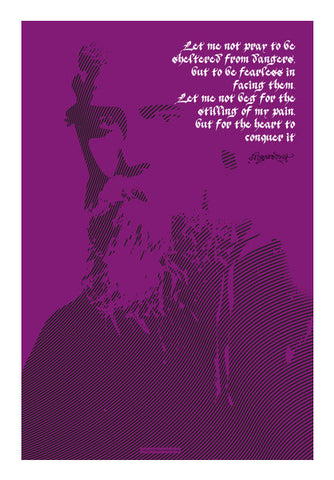 Tagore Wall Art | Artist : Scatterred Partikles