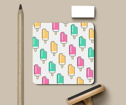 Ice-cream Candy Coasters | Artist : Nishit Shah