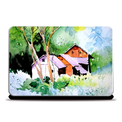 A vision of Beauty Laptop Skins | Artist : Rahul Tanwar