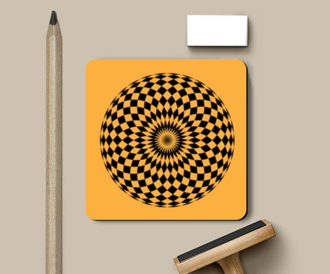 Coasters, ILLUSION-CIRCLE Coasters | Artist : Sonia Punyani, - PosterGully