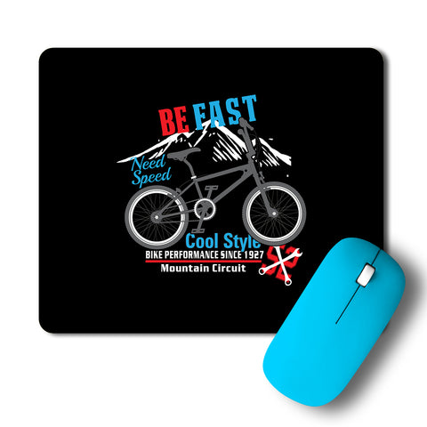 Bicycle Cool Style Need For Speed Artwork Mousepad