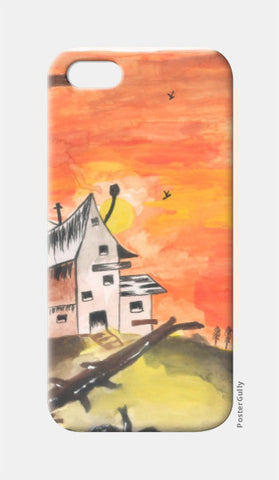 iPhone 5 Cases, Haunted House iPhone 5 Case | Artist: Teena Chauhan, - PosterGully