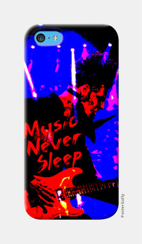 iPhone 5c Cases, Music Never Sleep iPhone 5c Case | Artist: Boys Theory, - PosterGully