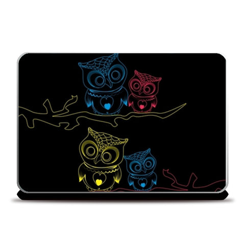 OWL B 2 Laptop Skins | Artist : Tiny Dots