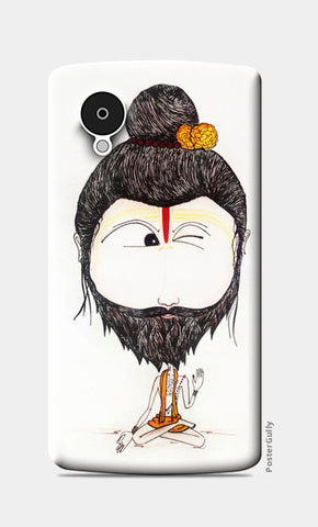 Wink Guy Nexus 5 Cases | Artist : Kanika Bardava