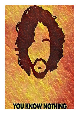 PosterGully Specials, Jon Snow Wall Art | Artist : Paresh Godhwani, - PosterGully
