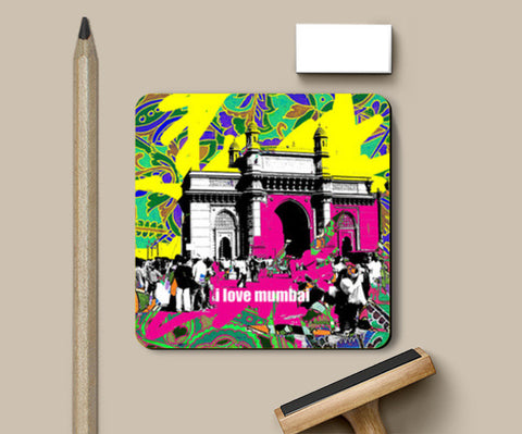 Coasters, i love mumbai Coasters | Artist : Pradeesh K, - PosterGully