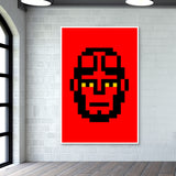 The Boy from Hell Minimal Pixel Giant Poster | Artist : Vishal Kumar