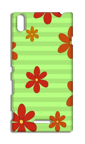 Flowers  Sony Xperia T3 Cases | Artist : Pallavi Rawal