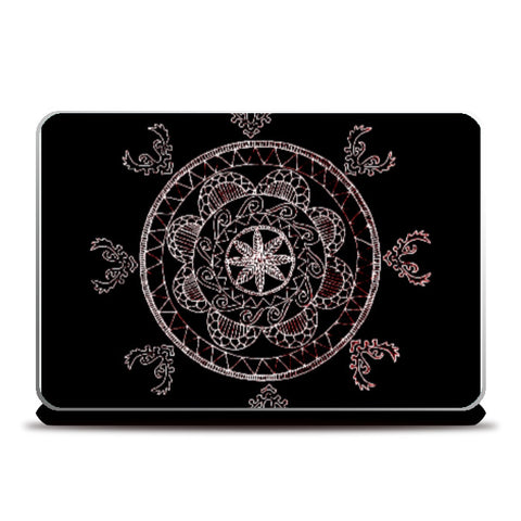 Laptop Skins, Mandalaneon Laptop Skin | Megs, - PosterGully