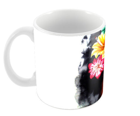 Plastic Flowers Coffee Mugs | Artist : Sanjay Ghosh