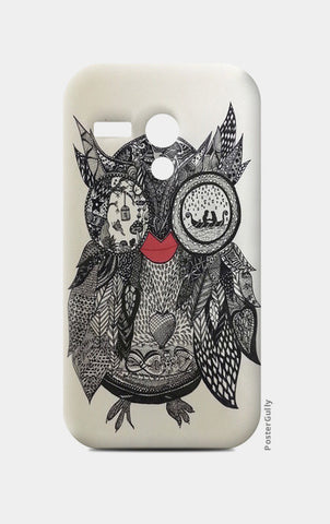 The Mystic Owl Moto G Cases | Artist : Quirky Designs by Priyanka Singhania