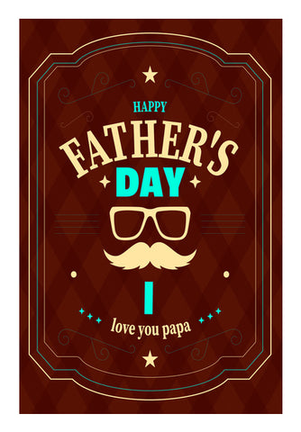 Happy Father's Day | #Father's Day Special  Wall Art | Artist : Creative DJ
