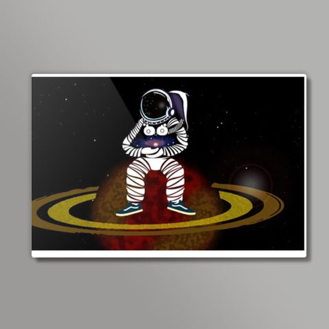 cosmic shit (the bboy astronaut) Metal Prints | Artist : Aayush Ranjan
