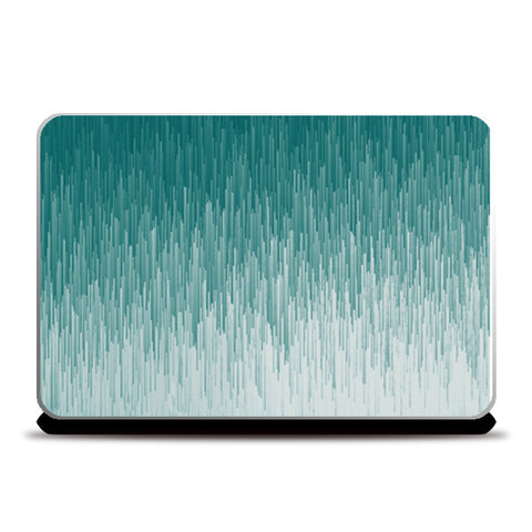 Sea Glitch Laptop Skins | Artist : Ashritha Rao