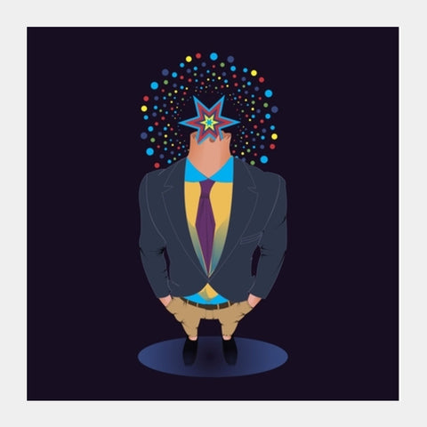 The Corporate  Square Art Prints | Artist : Tiny Dots