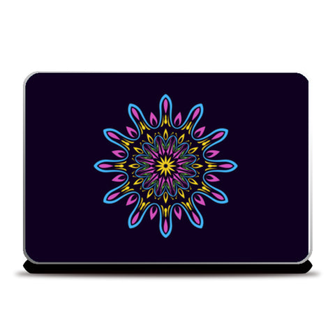 Crackers Design Dark Blue Laptop Skins | Artist : Creative DJ