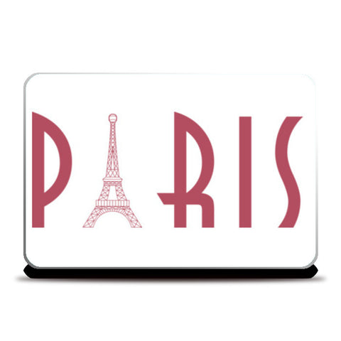 destination paris Laptop Skins | Artist : Juergen Dsouza