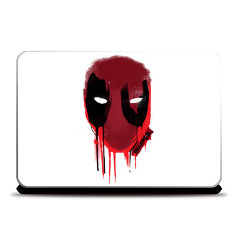 Laptop Skins, Deadpool Laptop Skins | Artist : Dev Ballal, - PosterGully