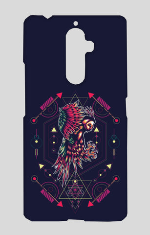 Owl Artwork Lenovo K8 Note Cases | Artist : Inderpreet Singh