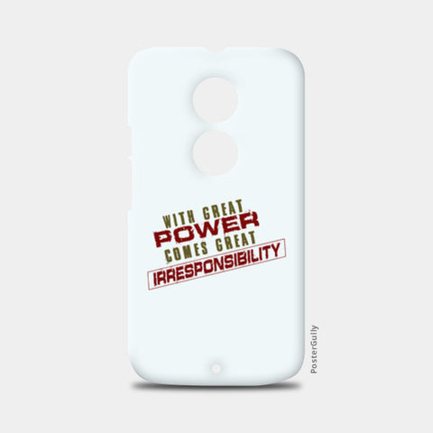 With Great Power Comes? Moto X2 Cases | Artist : Kaushal Faujdar