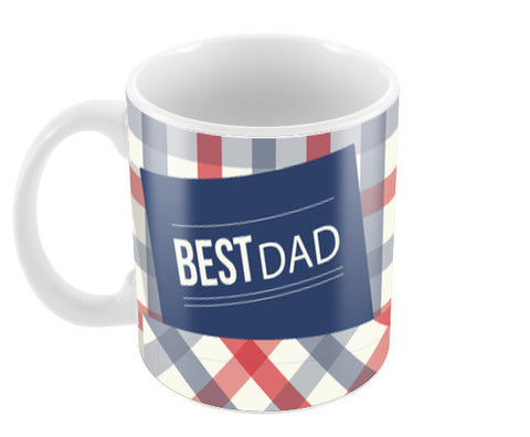 Best Dad : Fathers Day Coffee Mugs | Artist : Amantrika Saraogi