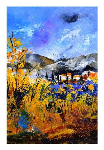 PosterGully Specials, blue provence 56 Wall Art | Artist : pol ledent | PosterGully Specials, - PosterGully