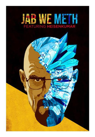 PosterGully Specials, Jab We Meth - Breaking Bad Wall Art | Artist : Jugaad Posters, - PosterGully
