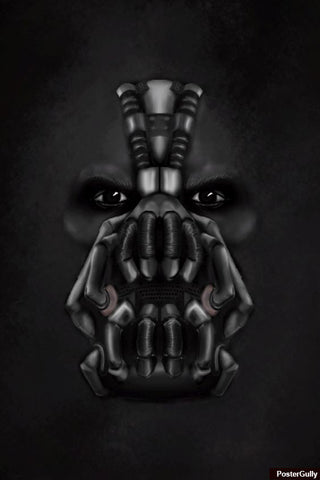 Wall Art, Bane Artwork | Artist: Loco Lobo, - PosterGully - 1