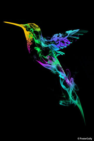 Wall Art, Strange Smoke | By Captain Kyso, - PosterGully - 1