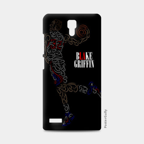 Blake Griffin Basketball Curves-Only Redmi Note Cases | Artist : Divyansh Deora
