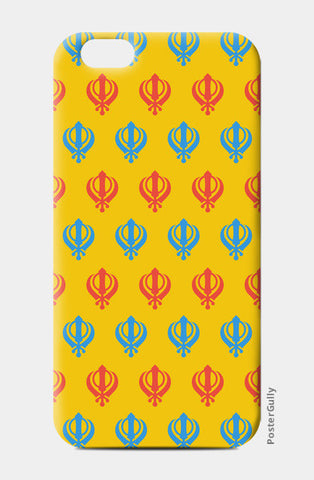 iPhone 6 / 6s Cases, Khanda Art iPhone 6 / 6s Cases | Artist : Gagandeep Singh, - PosterGully