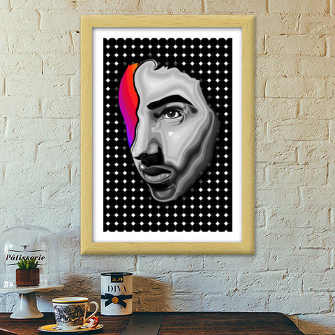 Few Colors In Life Premium Italian Wooden Frames | Artist : Archana Aravind