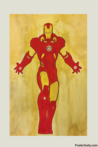 Wall Art, Ironman Artwork | Artist: Sameer Musale, - PosterGully