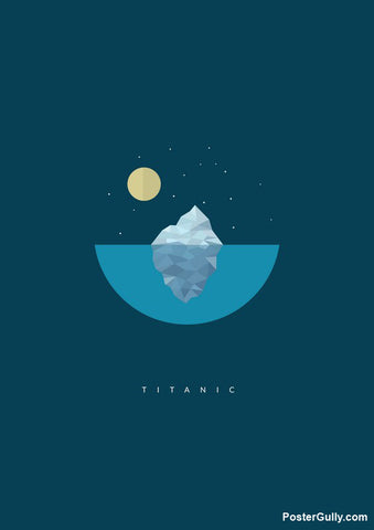 Brand New Designs, Titanic Artwork | Artist: Devansh Gandhi, - PosterGully - 1