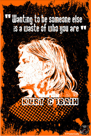 Wall Art, Kurt Cobain Artwork | Artist: Devraj Baruah, - PosterGully - 1