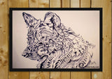 Brand New Designs, Wolf Abstract 2 Artwork | Artist: Sherry Sahni, - PosterGully - 2