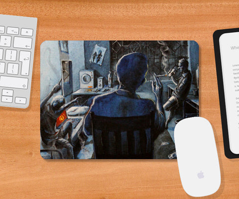 Mousepad, Hostel Saturdays - Painting Mousepad | Artist : Smeet Gusani, - PosterGully
