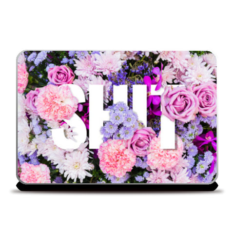 SWEET SHIT Laptop Skins | Artist : Scatterred Partikles