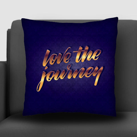 love the journey Cushion Covers | Artist : abhijeet sinha