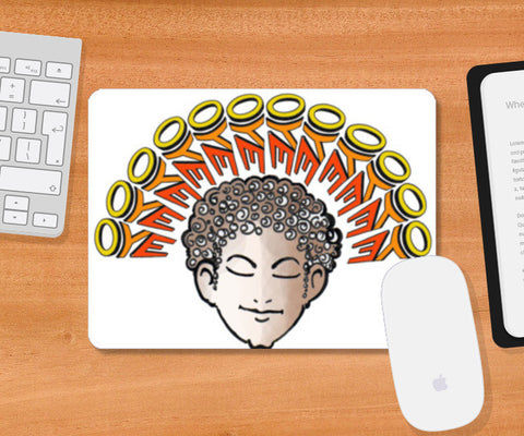 oye funny Quotations Mousepad | Artist : amit kumar