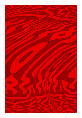 Red Fall Wall Art | Artist : Hemant Kumar Gandhi