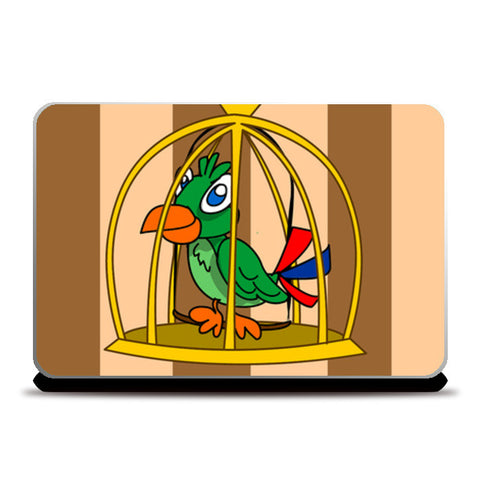 Laptop Skins, bird cage Laptop Skins | Artist : Anuj Goyal, - PosterGully